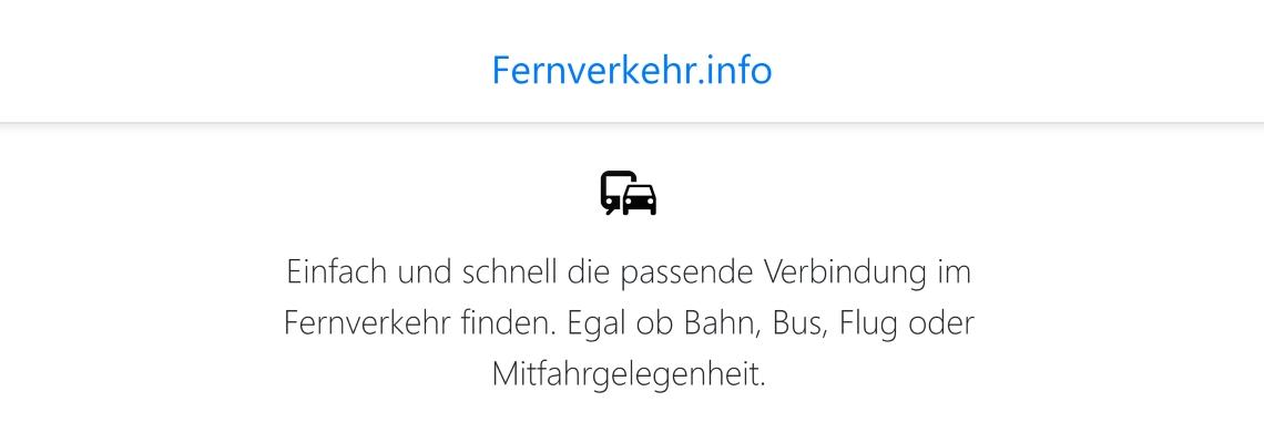 Fernverkehr.info