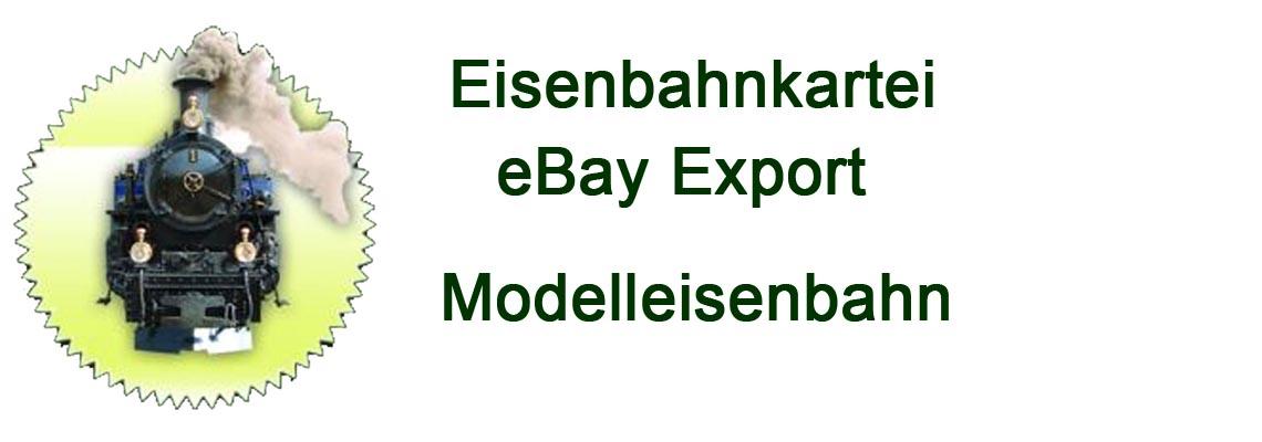 eBay Import zu  Eisenbahnkartei